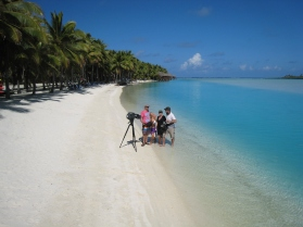 Cook Islands Channel 9 Getaway_Max Polley Freelance Tv Cameraman