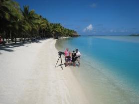 Cook Islands Channel 9 Getaway_Max Polley Freelance Tv Cameraman