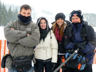 Winter Olympics Vancouver Channel 9 Getaway_Max Polley Freelance Tv Cameraman